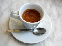 Kaffee-Espresso Stockfotos