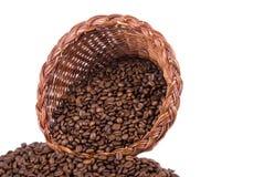 Kaffee-Fülle Front Close lizenzfreie stockfotos