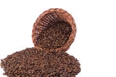 Kaffee-Fülle Front Wide lizenzfreies stockfoto