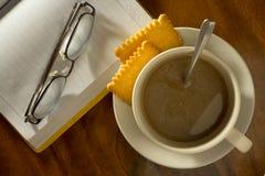 Kaffee für entspannen sich Stockfotografie