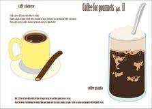 Kaffee für Feinschmeckerteil II vektor abbildung
