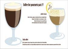 Kaffee für Feinschmeckerteil V vektor abbildung