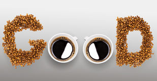 Kaffee für guten Morgen Stockfoto