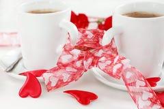 Kaffee für zwei Lizenzfreies Stockbild