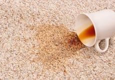 Kaffee-Fleck Stockfotografie