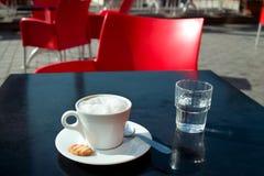 Kaffee in Frankreich Stockfotos