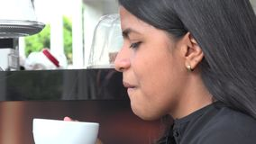 Kaffee, Getränke, trinkt stock video