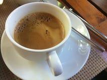 Kaffee heiß Lizenzfreie Stockfotografie