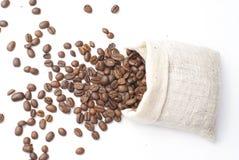 Kaffee im Beutel Stockbild