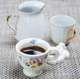 Kaffee im Cup Lizenzfreies Stockbild