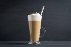 Kaffee im Glas Lizenzfreie Stockbilder