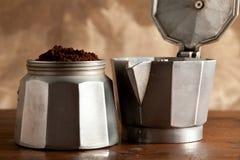 Kaffee im mocca lizenzfreies stockfoto
