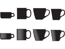 Kaffee-Java-Cup Stockbild