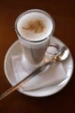 Kaffee-Kaffee - Latte Stockfoto