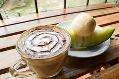 Kaffee-Kantalupe, Lizenzfreies Stockfoto