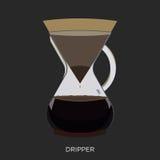 Kaffee-Kessel Lizenzfreie Stockfotos