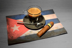 Kaffee - Kuba Stockfotografie