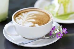 Kaffee-Kunst stockbilder