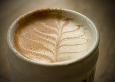 Kaffee-Kunst Lizenzfreies Stockbild
