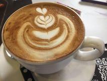 Kaffee-Kunst Stockbild