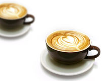 Kaffee Latte Lizenzfreie Stockfotos