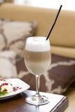 Kaffee latte macchiato Stockfotografie