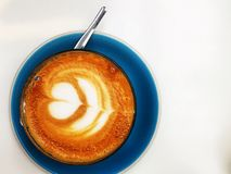 Kaffee Lattekunst Lizenzfreie Stockfotografie