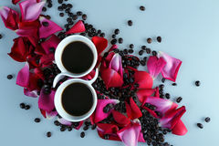 Kaffee-Liebe Lizenzfreie Stockbilder