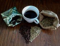 Kaffee-Liebhaberdilemma Lizenzfreies Stockbild