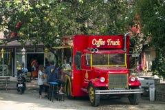 Kaffee-LKW Lizenzfreies Stockfoto