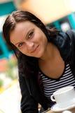 Kaffee-Mädchen Lizenzfreie Stockfotografie