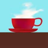 Kaffee-Menü-Schablone vektor abbildung