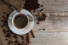 Kaffee mit Gewürzen Lizenzfreie Stockfotografie