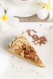 Kaffee mit Kuchen, Kaffeetasse - Weinleseeffekt-Artbilder lizenzfreies stockfoto