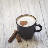 Kaffee mit Liebe lizenzfreies stockfoto