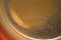 Kaffee mit Schaumgummi lizenzfreies stockfoto