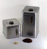 Kaffee mit Zucker Lizenzfreie Stockfotos