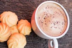 Kaffee morgens stockfoto