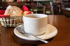 Kaffee morgens stockfotografie