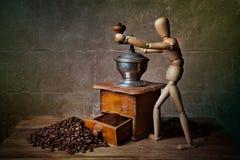 Kaffee-noch Leben Stockfotografie