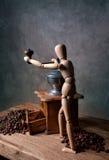 Kaffee-noch Leben Stockbild