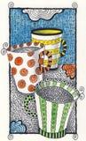 Kaffee oder Tee? Stockfoto