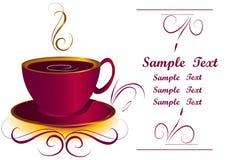 Kaffee- oder Teecup Stockbild
