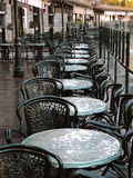 Kaffee in Plaza de Oriente Stockfoto