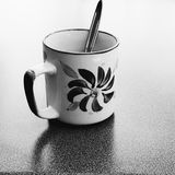 Kaffee regt die Richtungen an lizenzfreie stockfotos