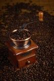 Kaffee-Schleifer Lizenzfreie Stockfotografie