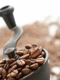 Kaffee-Schleifer Stockfoto