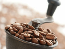 Kaffee-Schleifer Stockbild