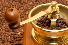 Kaffee-Schleifer Lizenzfreies Stockbild