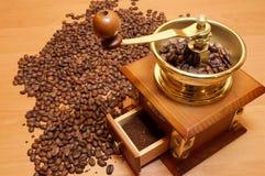 Kaffee-Schleifer Lizenzfreie Stockfotos